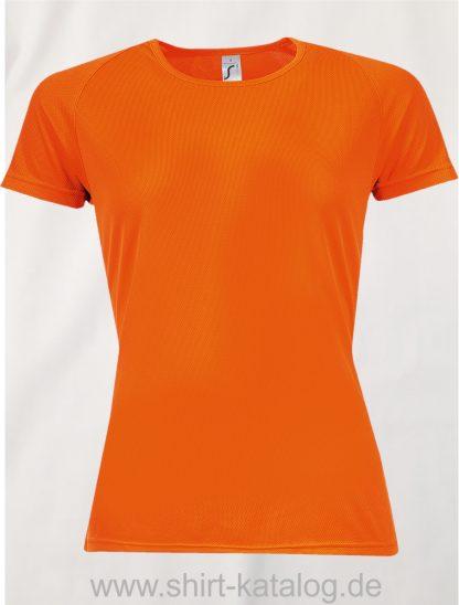 10182-Sols-Women-Raglan-Sleeves-T-Sporty-Orange