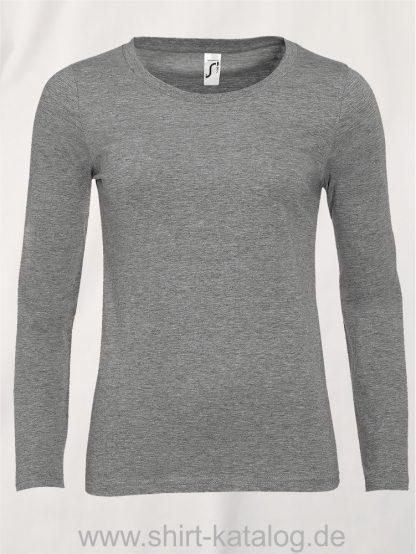 11444-Sols-Women-Long-Sleeve-T-Majestic-Grey-Melange