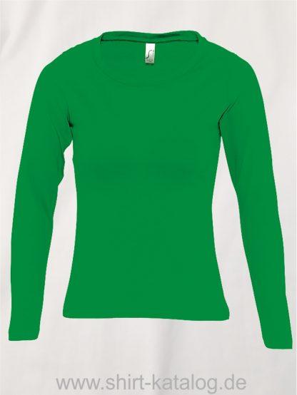 11444-Sols-Women-Long-Sleeve-T-Majestic-Kelly-Green