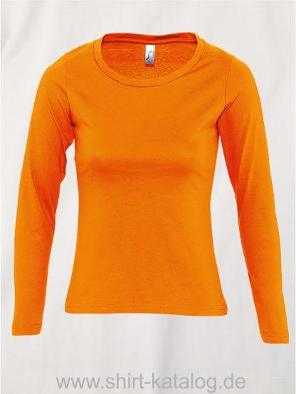 11444-Sols-Women-Long-Sleeve-T-Majestic-Orange