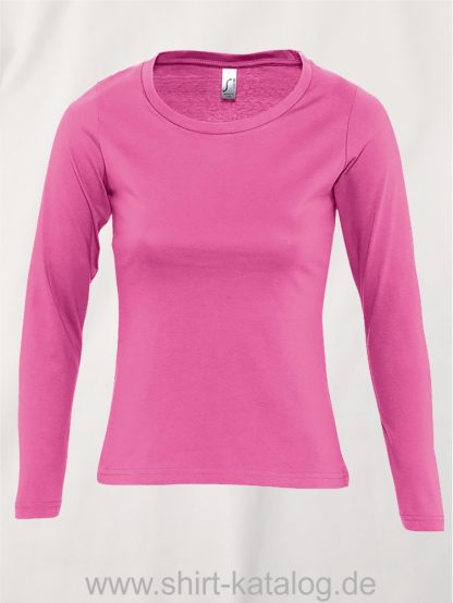 11444-Sols-Women-Long-Sleeve-T-Majestic-Orchid-Pink