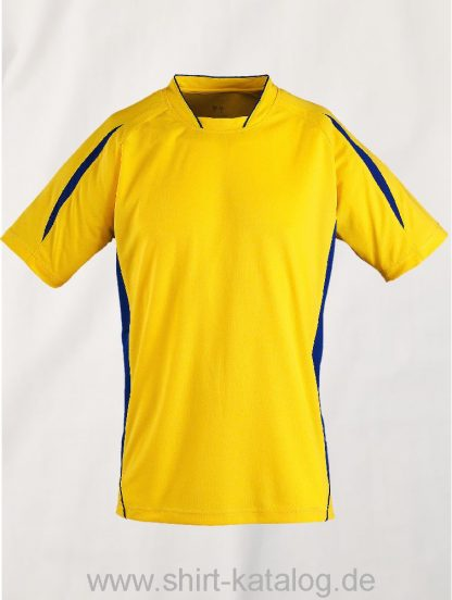 11530-Sols-Shortsleeve-Shirt-Maracana-2-Kids-Zitrone-Navy