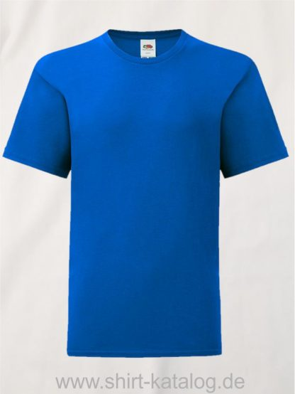 11657-Fruit-Of-The-Loom-Kids-Iconic-T-F130K-Royal-Blue