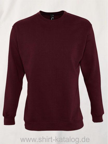 12637-Sols-Sweatshirt-New-Supreme-burgundy