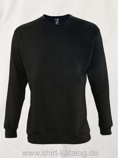12637-Sols-Sweatshirt-New-Supreme-deep-charcoal-grey