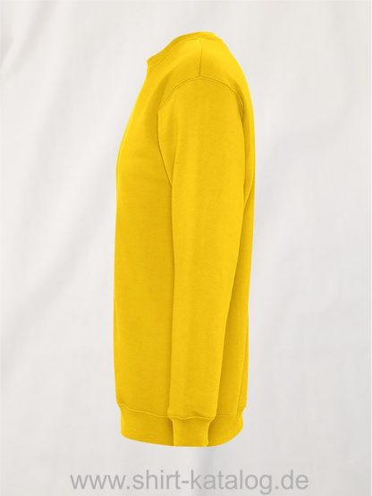 12637-Sols-Sweatshirt-New-Supreme-gold-side-view