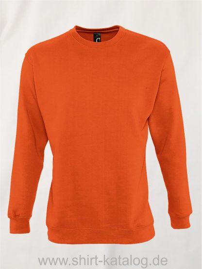 12637-Sols-Sweatshirt-New-Supreme-orange