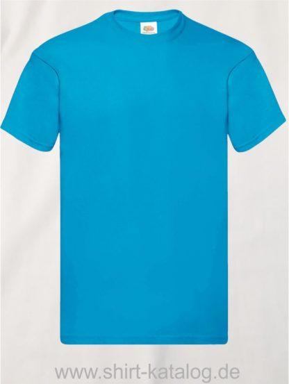 16114-Fruit-Of-The-Loom-Original-T-F110-Azure-Blue
