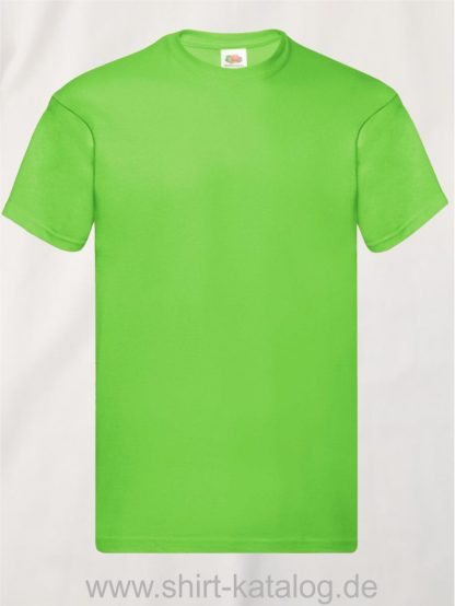 16114-Fruit-Of-The-Loom-Original-T-F110-Lime