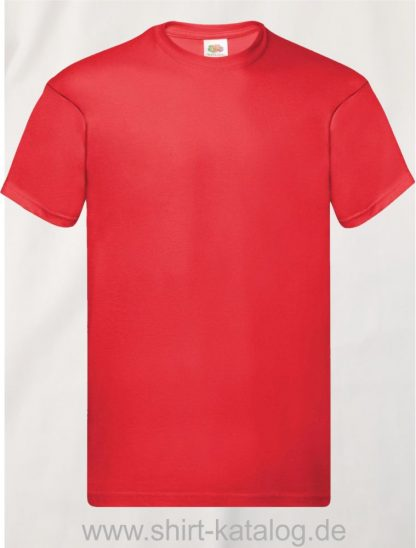 16114-Fruit-Of-The-Loom-Original-T-F110-Red