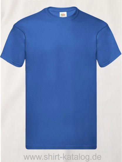 16114-Fruit-Of-The-Loom-Original-T-F110-Royal-Blue