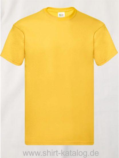 16114-Fruit-Of-The-Loom-Original-T-F110-Sunflower-Yellow