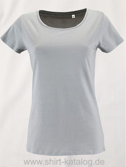 2077-Sols-Women-Short-Sleeved-T-Shirt-Pure-Grey