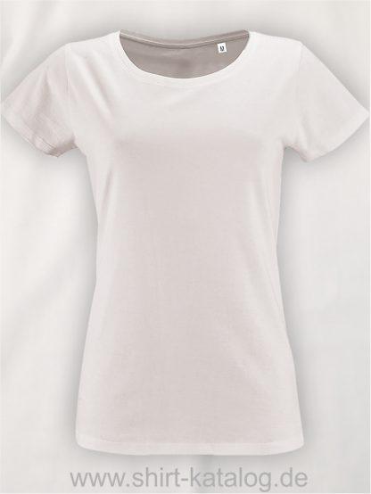 2077-Sols-Women-Short-Sleeved-T-Shirt-White