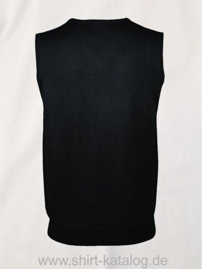 20926-Sols-Unisex-Sleeveless-Sweater-Gentlemen-black-back-view