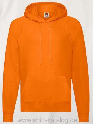 22013-Fruit-of-the-Loom-Lightweight-Hooded-Sweat-Orange