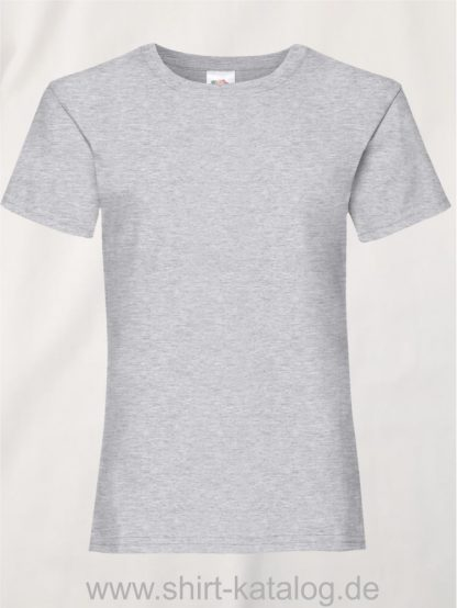 23255-Fruit-Of-The-Loom-Girls-Valueweight-T-F288K-Heather-Grey