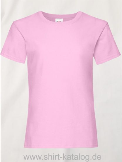 23255-Fruit-Of-The-Loom-Girls-Valueweight-T-F288K-Light-Pink
