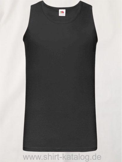23259-Fruit-of-the-Loom-Athletic-Vest-Black