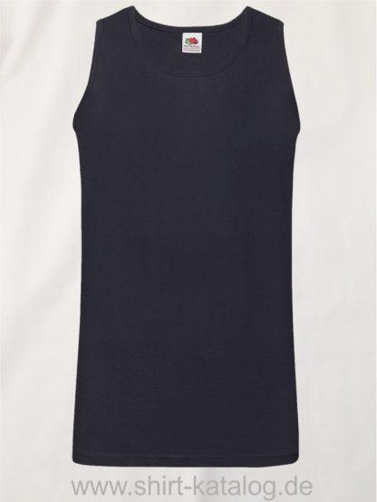 23259-Fruit-of-the-Loom-Athletic-Vest-Deep-Navy