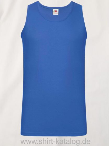 23259-Fruit-of-the-Loom-Athletic-Vest-Royal