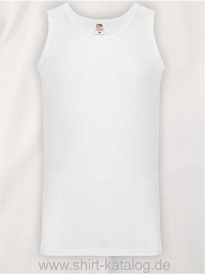 23259-Fruit-of-the-Loom-Athletic-Vest-White