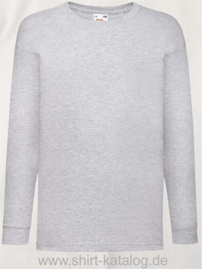 23260-Fruit-Of-The-Loom-Valueweight-T-Kids-Heather-Grey