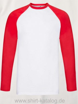23274-Fruit-of-the-Loom-Longsleeve-Baseball-T-White-Red