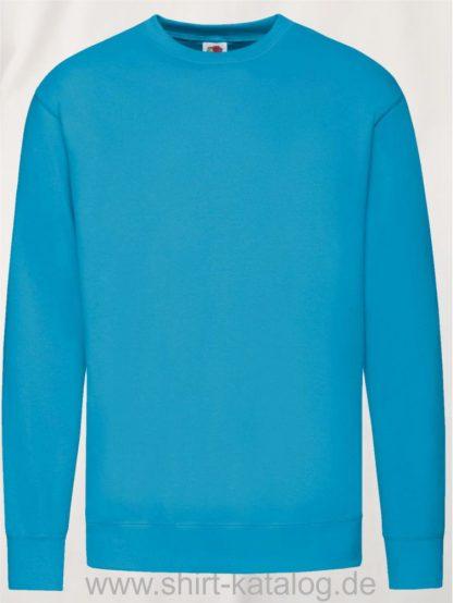 23288-Fruit-of-the-Loom-New-Lightweight-Set-In-Sweat-Azure-Blue