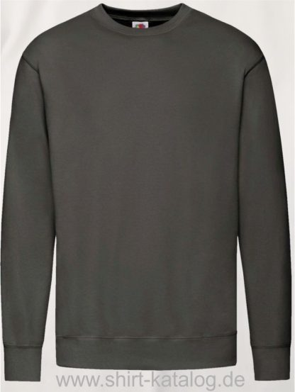 23288-Fruit-of-the-Loom-New-Lightweight-Set-In-Sweat-Light-Graphite