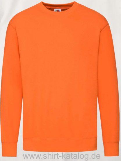 23288-Fruit-of-the-Loom-New-Lightweight-Set-In-Sweat-Orange