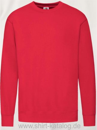 23288-Fruit-of-the-Loom-New-Lightweight-Set-In-Sweat-Red