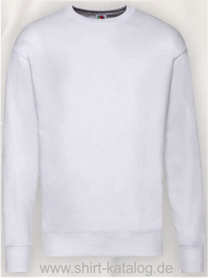 23288-Fruit-of-the-Loom-New-Lightweight-Set-In-Sweat-White