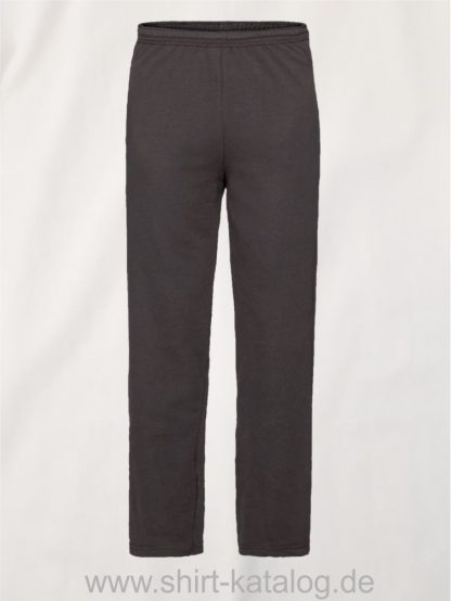 23291-Fruit-of-the-Loom-Lightweight-Open-Hem-Jog-Pants-Black