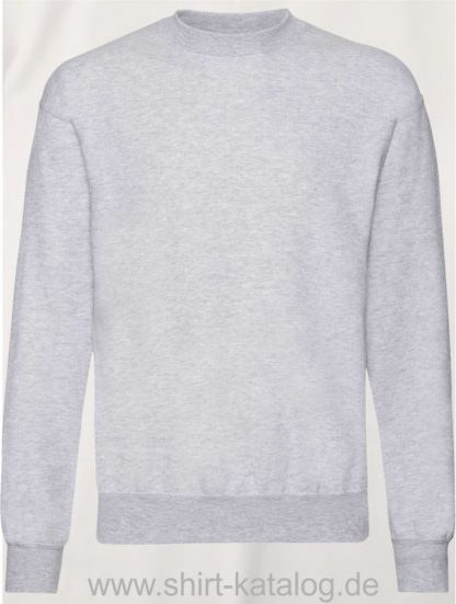 23332-Fruit-of-the-Loom-Classic-Set-in-Sweat-Heather-Grey