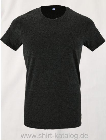 24903-Sols-Regent-Fit-T-Shirt-Charcoal-Melange
