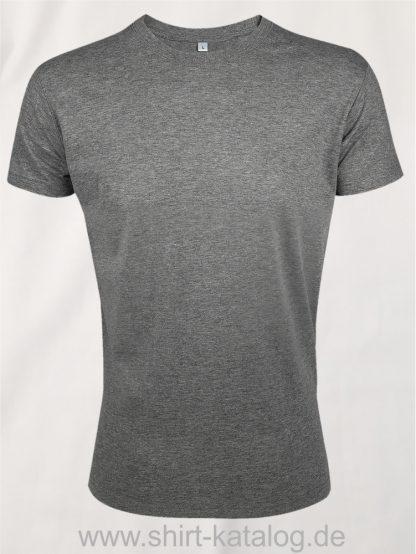 24903-Sols-Regent-Fit-T-Shirt-Grey-Melange
