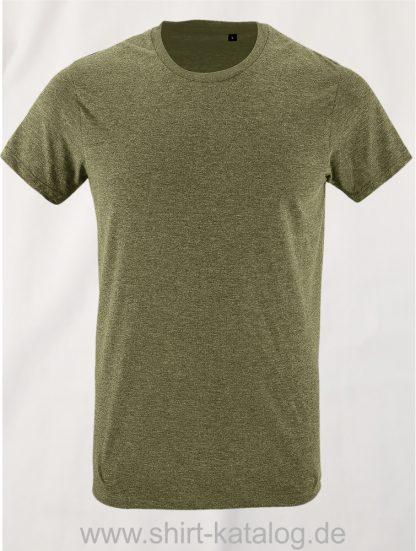 24903-Sols-Regent-Fit-T-Shirt-Heather-Khaki