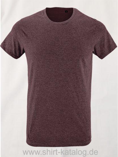 24903-Sols-Regent-Fit-T-Shirt-Heather-Oxblood