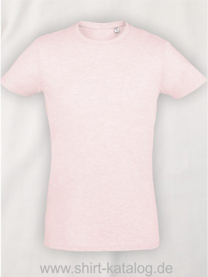 24903-Sols-Regent-Fit-T-Shirt-Heather-Pink