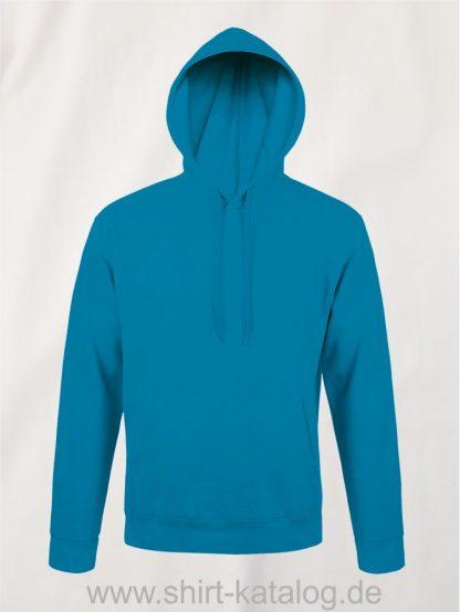 25845-Sols-Unisex-Hooded-Sweat-Shirt-Snake-aqua