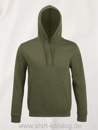 25845-Sols-Unisex-Hooded-Sweat-Shirt-Snake-army
