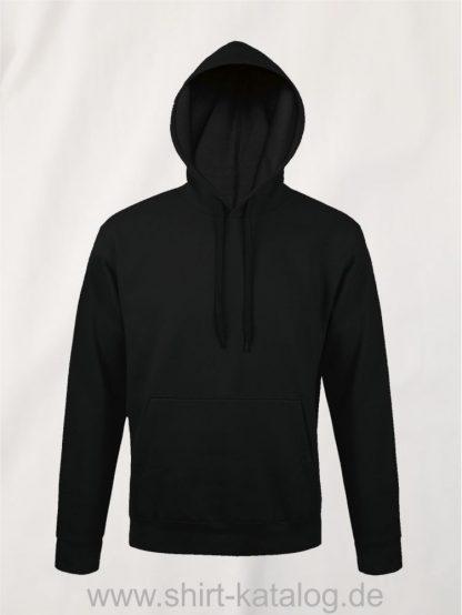 25845-Sols-Unisex-Hooded-Sweat-Shirt-Snake-black
