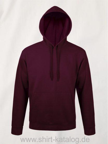 25845-Sols-Unisex-Hooded-Sweat-Shirt-Snake-burgundy
