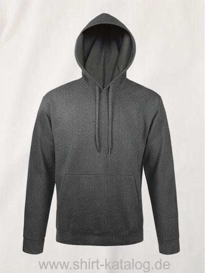 25845-Sols-Unisex-Hooded-Sweat-Shirt-Snake-charcoal-melange