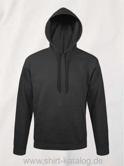 25845-Sols-Unisex-Hooded-Sweat-Shirt-Snake-dark-grey