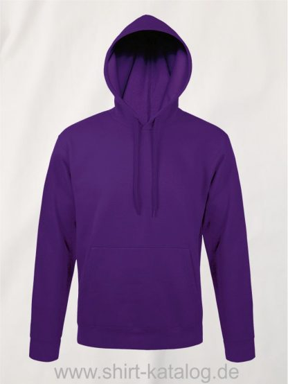 25845-Sols-Unisex-Hooded-Sweat-Shirt-Snake-dark-purple