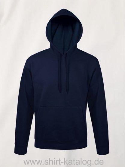 25845-Sols-Unisex-Hooded-Sweat-Shirt-Snake-french-navy