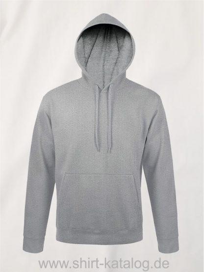 25845-Sols-Unisex-Hooded-Sweat-Shirt-Snake-grey-melange