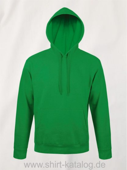 25845-Sols-Unisex-Hooded-Sweat-Shirt-Snake-kelly-green